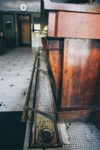 Fresh Flow Through Spittoon in Bar Area